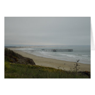 Pier at Pismo Beach, California Card
