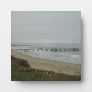 Pier at Pismo Beach, California Plaque