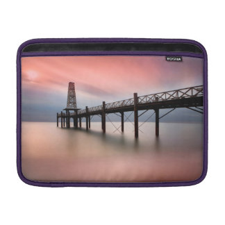 Pier at sunset sleeve for MacBook air