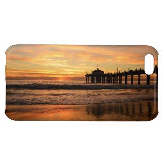 Pier beach sunset case for iPhone 5C
