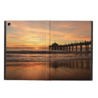Pier beach sunset iPad air case