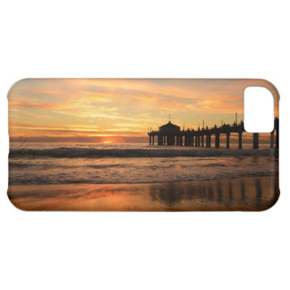Pier beach sunset iPhone 5C case