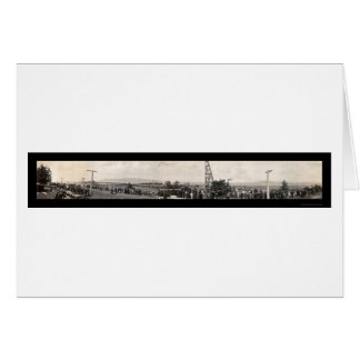 Pier Construction OR Photo 1914 Card