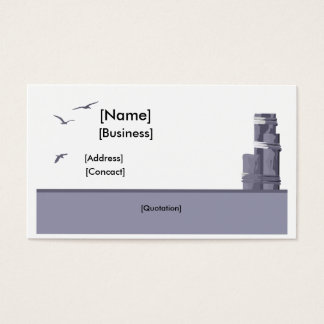 Pier Piling Business Card