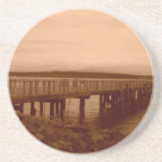 Pier Sandstone Coaster
