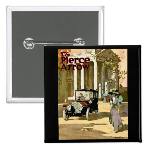 Pierce Arrow Vintage Advertisement Pinback Button