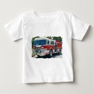 Pierce fire truck t-shirts