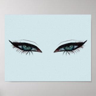 Piercing Eyes Poster