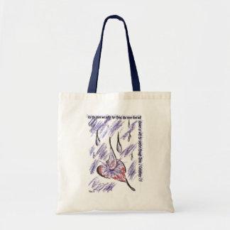 Piercing Rain Tote Bag