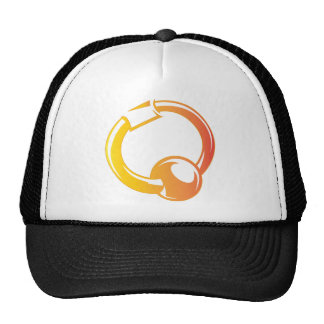 Piercing Ring - Ball Pierce Ring Pop Fashion Mesh Hats