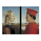 Piero Francesca- Portraits Federico da Montefeltro Postcard