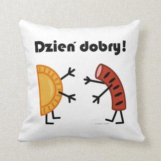 Pierogi & Kielbasa - Dzien Dobry! Cushion