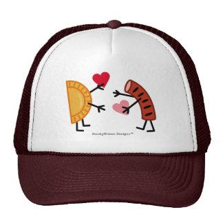 Pierogi & Kielbasa - Valentine's Day Cap