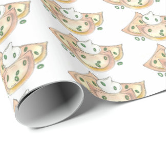 Pierogies Polish Cuisine Potato Dumplings Foodie Wrapping Paper