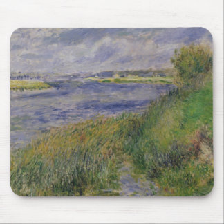 Pierre A Renoir | Banks of the Seine, Champrosay Mouse Pad