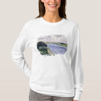 Pierre A Renoir | Barges on the Seine T-Shirt