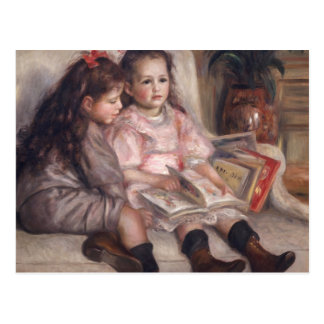 Pierre A Renoir | Children Of Martial Caillebotte Postcard