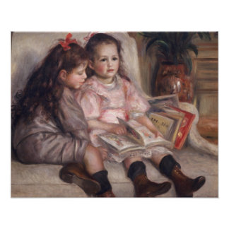 Pierre A Renoir | Children Of Martial Caillebotte Poster