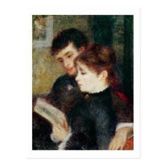 Pierre A Renoir | Couple Reading Postcard
