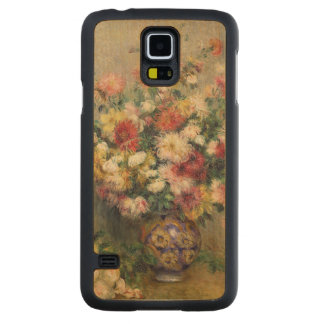 Pierre A Renoir | Dahlias Carved Maple Galaxy S5 Case