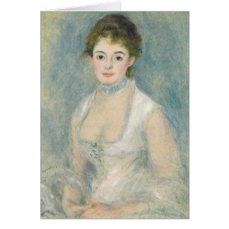 Pierre A Renoir | Madame Henriot Card
