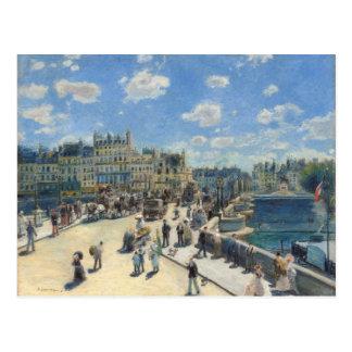 Pierre A Renoir | Pont Neuf, Paris Postcard