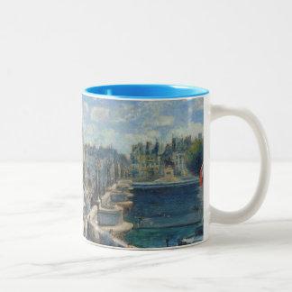 Pierre A Renoir | Pont Neuf, Paris Two-Tone Coffee Mug
