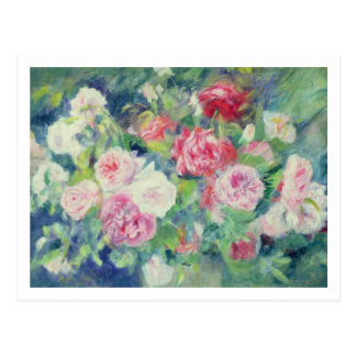 Pierre A Renoir | Roses 2 Postcard
