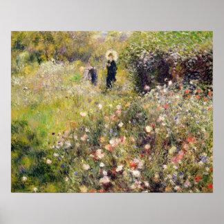 Pierre A Renoir   Summer Landscape Poster