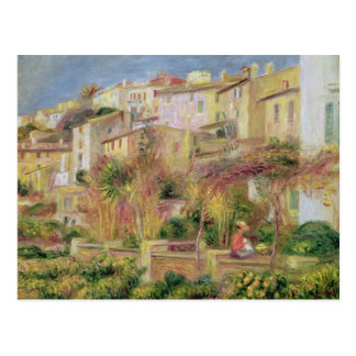 Pierre A Renoir | Terrace in Cagnes Postcard