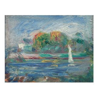 Pierre A Renoir | The Blue River Postcard