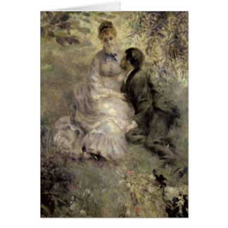 Pierre A Renoir | The Lovers Card