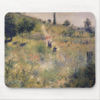 Pierre A Renoir   The Path through the Long Grass Mouse Pad