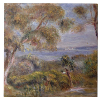 Pierre A Renoir   The Sea at Cagnes Ceramic Tile