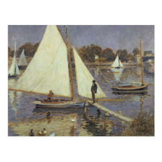 Pierre A Renoir | The Seine at Argenteuil Postcard