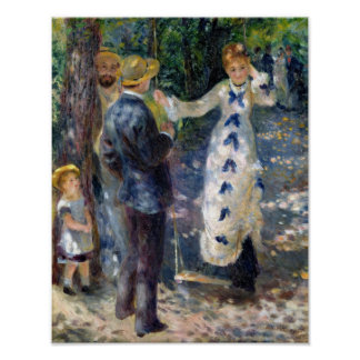 Pierre A Renoir | The Swing Poster