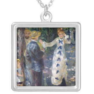 Pierre A Renoir | The Swing Silver Plated Necklace