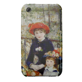 Pierre A Renoir   Two Sisters, or On The Terrace Case-Mate iPhone 3 Case