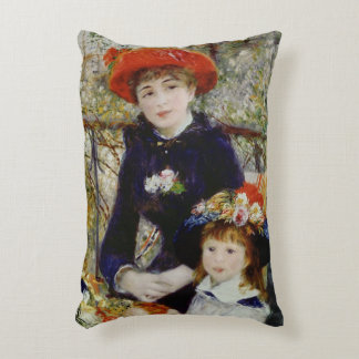 Pierre A Renoir   Two Sisters, or On The Terrace Decorative Cushion