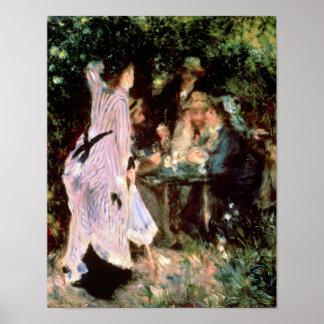 Pierre A Renoir | Under the Trees, de la Galette Poster