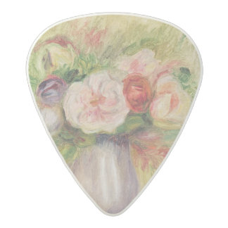 Pierre A Renoir | Vase of Flowers Acetal Guitar Pick