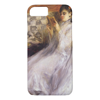 Pierre A Renoir | Young Woman Reading iPhone 7 Case