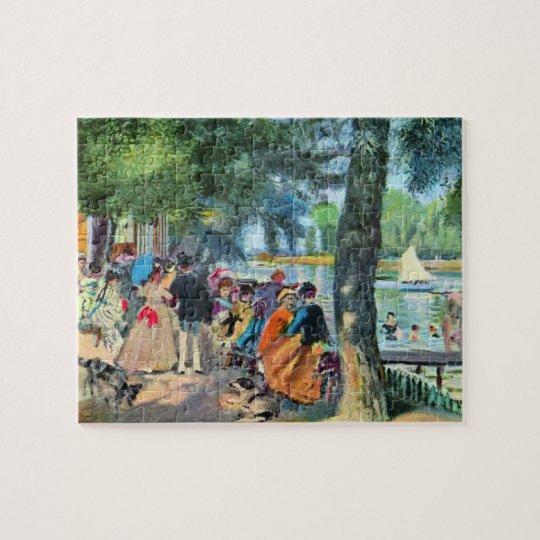 Pierre-Auguste Renoir by Pierre Renoir Jigsaw Puzzle