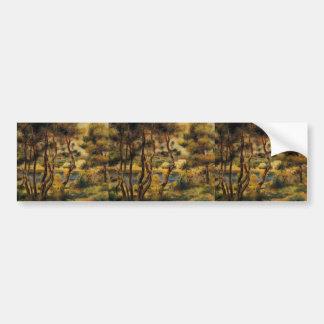 Pierre-Auguste Renoir- Cape Saint Jean Bumper Sticker