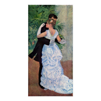 Pierre-Auguste Renoir Dance in the City Poster