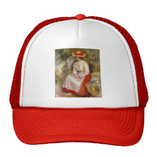 Pierre-Auguste Renoir- Gabrielle in a Straw Hat