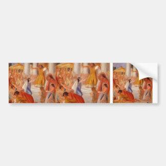 Pierre-Auguste Renoir- Oedipus Rex Bumper Sticker