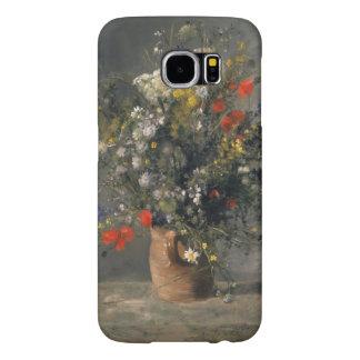 Pierre Auguste Renoir Painting, Flowers In A Vase Samsung Galaxy S6 Cases