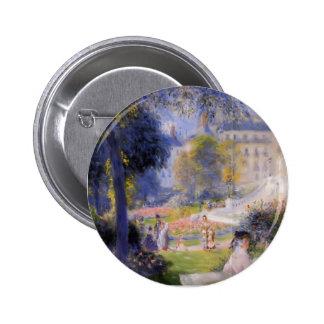 Pierre-Auguste Renoir- Place de la Trinite Button