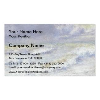 Pierre-Auguste Renoir- Seascape Business Card Templates